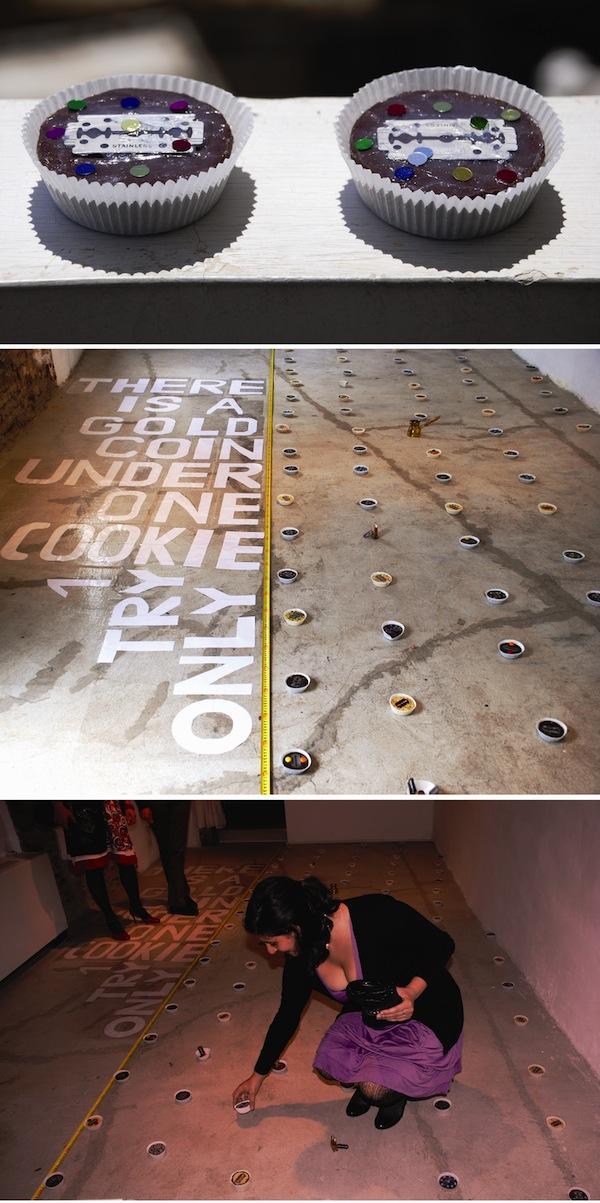 Doop art gallery advertisemenet for theater Hovannes Helvajian