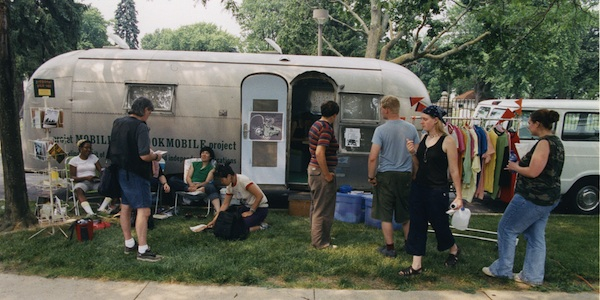 The BOOKMOBILE Project: Then, There, Now