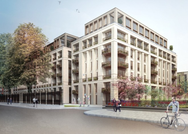 Squire & Partners' approved scheme, on the way to realization. Credit: http://www.primeresi.com