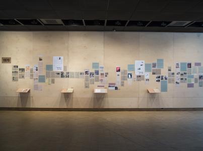 "Image 2: Exhibition view from ""Scared of Murals"", SALT Beyoğlu, 2013 Photo by Cem Berk Ekinil"