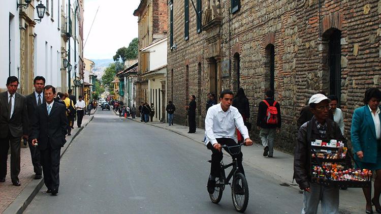 Caminata Colonial, Bogotá, Colombia. Photo by Zuniga Jr., Edgar