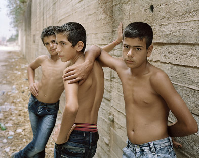 """George Awde, Untitled, Beirut, 2012. Inkjet print from 4"""" x 5"""" negative"""