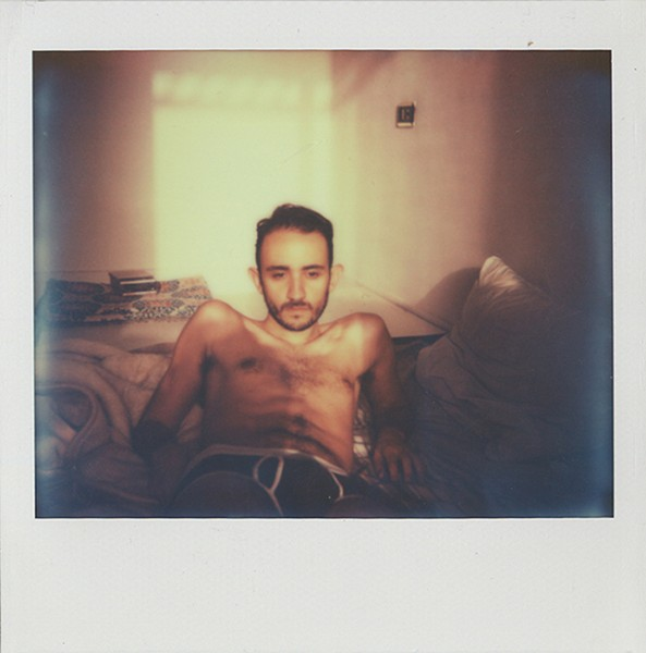 George Awde, Untitled, Cairo, 2014. Polaroid.