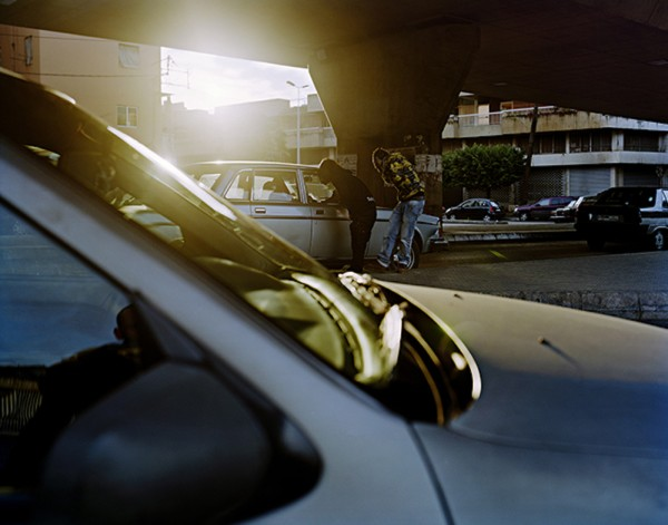 """George Awde, Untitled, Beirut, 2009. Inkjet print from 4"""" x 5"""" negative"""