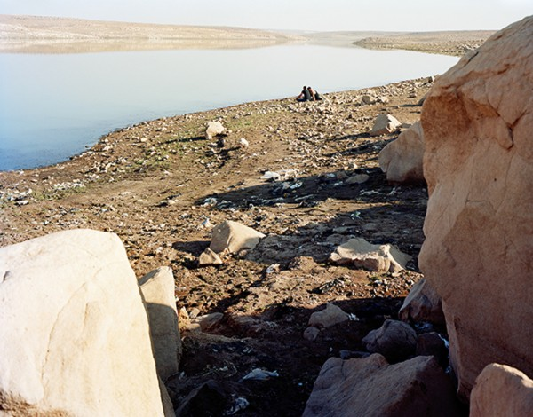 "George Awde, Untitled, Qamishli, Syria, 2010. Inkjet print from 4"" x 5"" negative."
