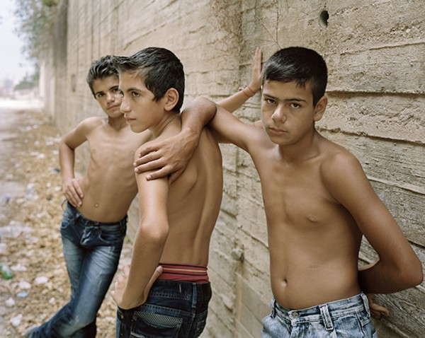 """George Awde, Untitled, Beirut, 2012. Inkjet print from 4"""" x 5"""" negative."""