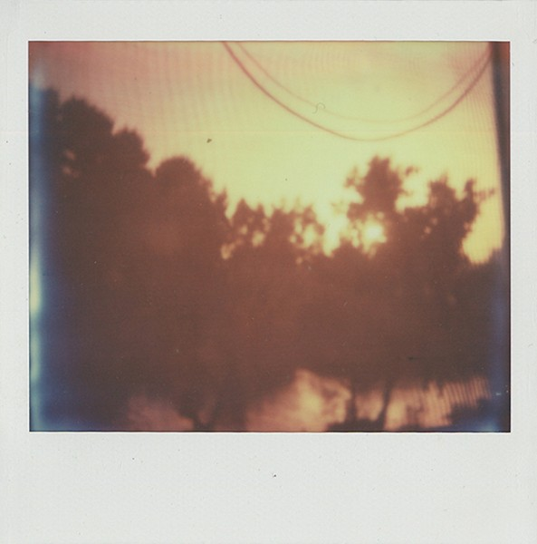 George Awde, Untitled, Cairo, 2015. Polaroid.