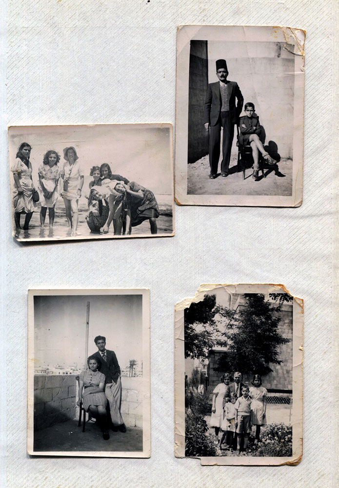 Christian Palestinian Archive (CPA), photos of the Chaddad family, taken between 1937-1950. Collection of the Chaddad family, London, United Kingdom.