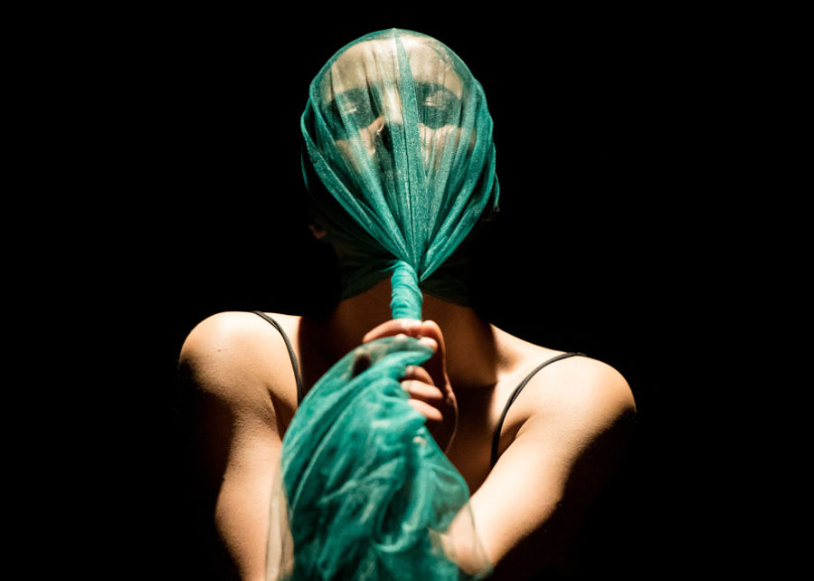 "Amira Chebli's ""In-Situ."" (Photo by Ian Douglas)"