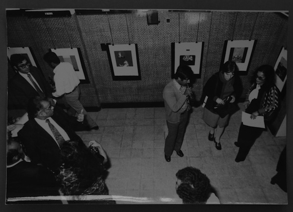 Image of gallery from the loft.