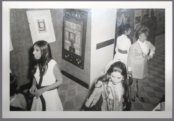 Image from exhibition of Munira al Kazi's work