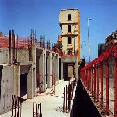 "Greta Torossian, Way Towards the Past in ""Beirut 99: Real Visions"", 1999. c-print, 39 x 39 in"