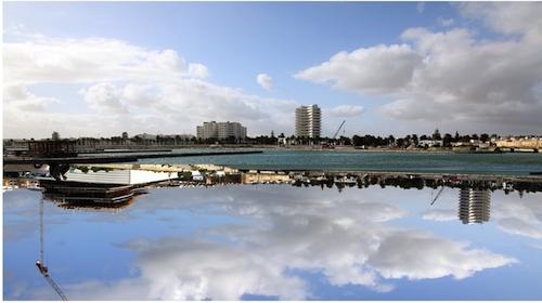 2012, Digital photography. Unique print on diasec, 160/80cm, courtesy Meriem Bouderbela, Tunisia.