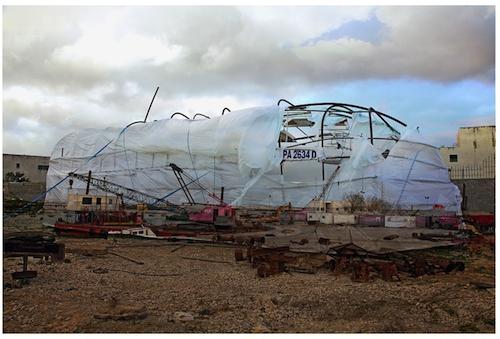 2012. Digital photography. Unique print on diasec, 70/100cm, courtesy Meriem Bouderbela, Tunisia.