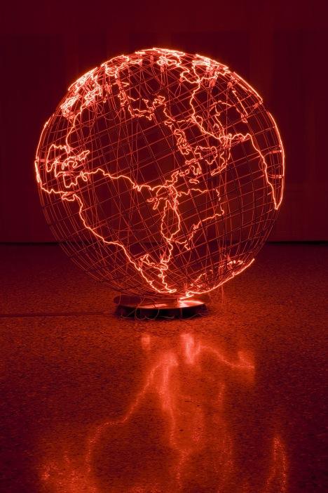 Mona Hatoum, Hot Spot III, 2009