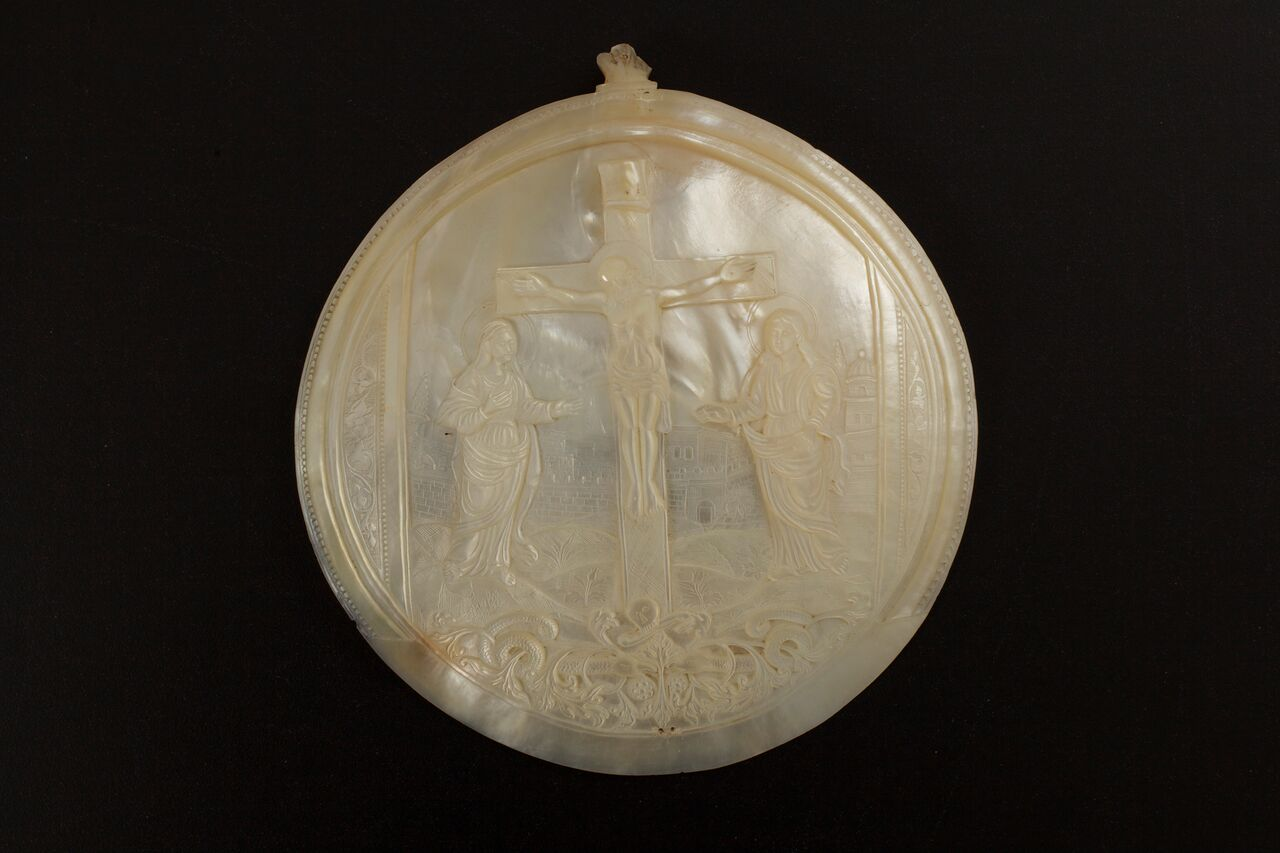 19th Century Bethlehem Engraved Shell Courtesy Collection of George Al Ama