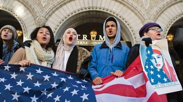 Trump's travel ban denounced by curators and artists