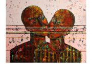 George Mason University Presents: One Eye Open: Paintings by Rashwan Abdelbaki