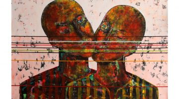 George Mason University Presents: One Eye Open: Paintings by Rashwan Abdelbaki