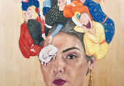 """Panel discussion: """"A Bridge Between You and Everything: An Exhibition of Iranian Women Artists"""""""