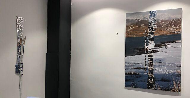 Installation shot, Eclectic studio, Paris 2018
