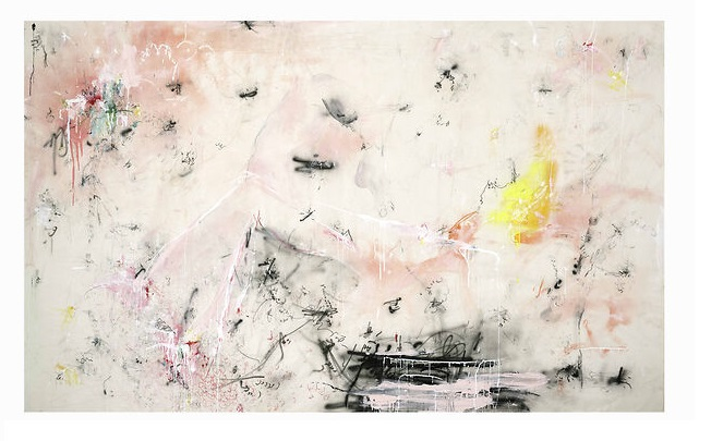 these were not ungraspable dreams but a frenzy of living hours. and in these fluid hours I witnessed wondrous things, 2020, 150 x 245 cm
