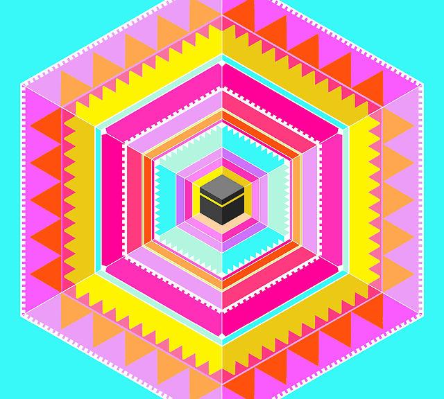 Ka'ba, 2013, Cover design for Alef Magazine
