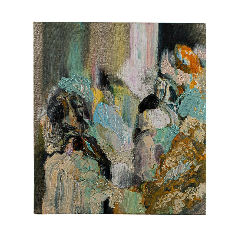 Cataract III, 2021, Oil on Canvas, 50 x 40 cm