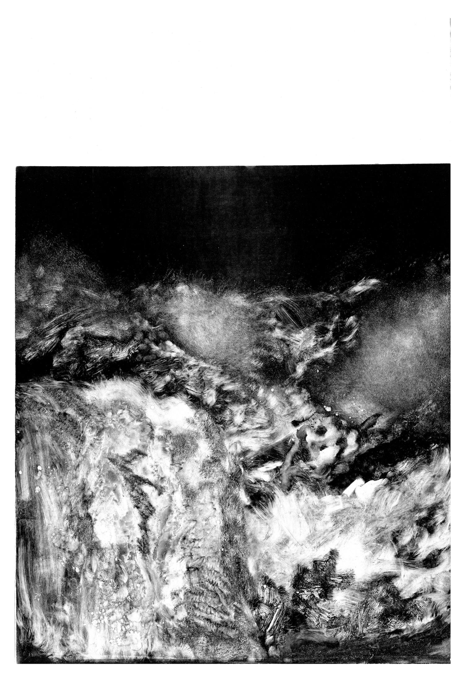 Threshold 06, 2018, Monotype, 60 x 90 cm