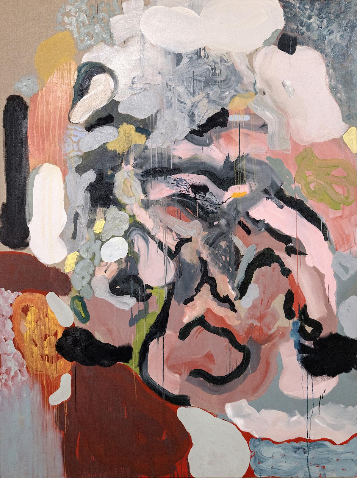 Glycine II, 2019, Oil on Linen, 180 x 240 cm