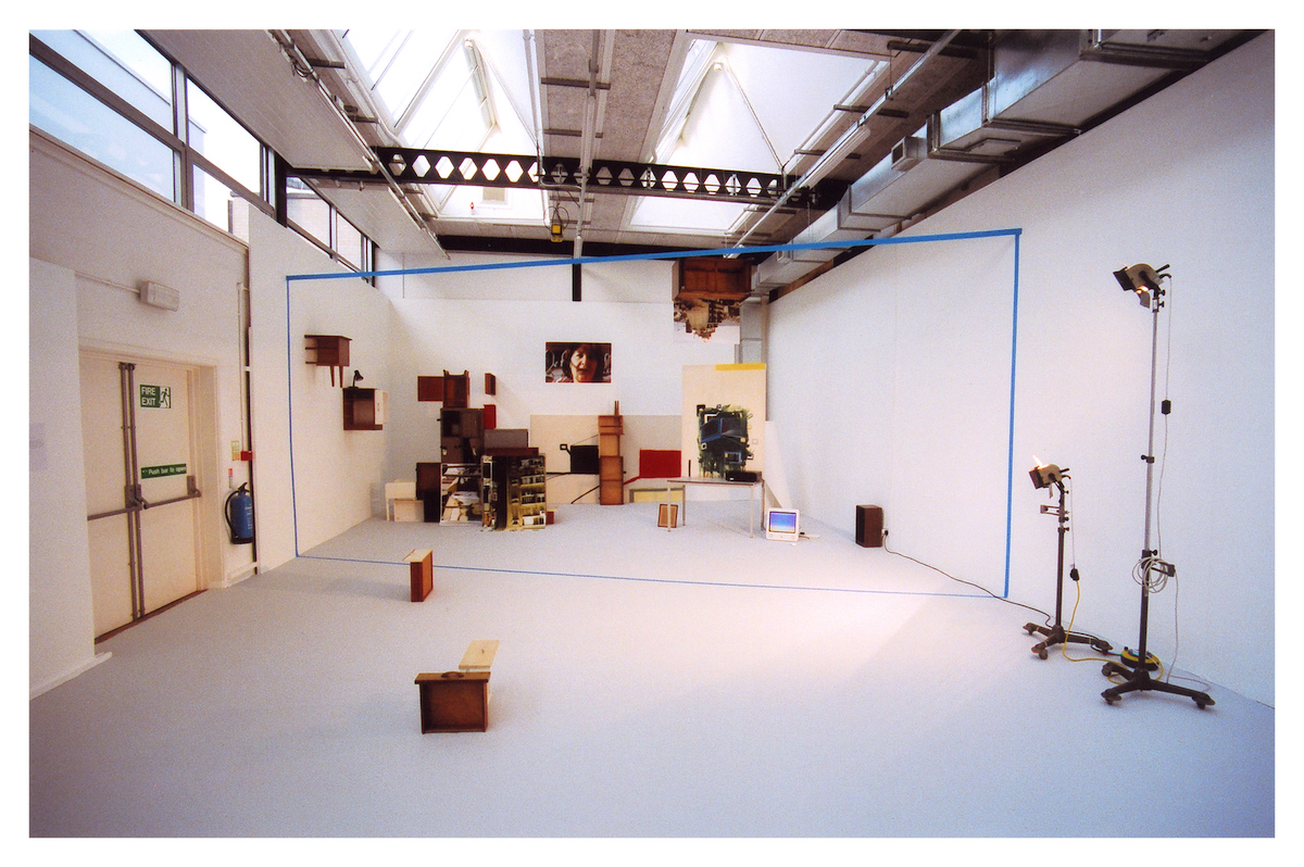 The Truth, 2016, Mixed media with sound, dimensions variable. Installation view Herbert Read Gallery, Canterbury