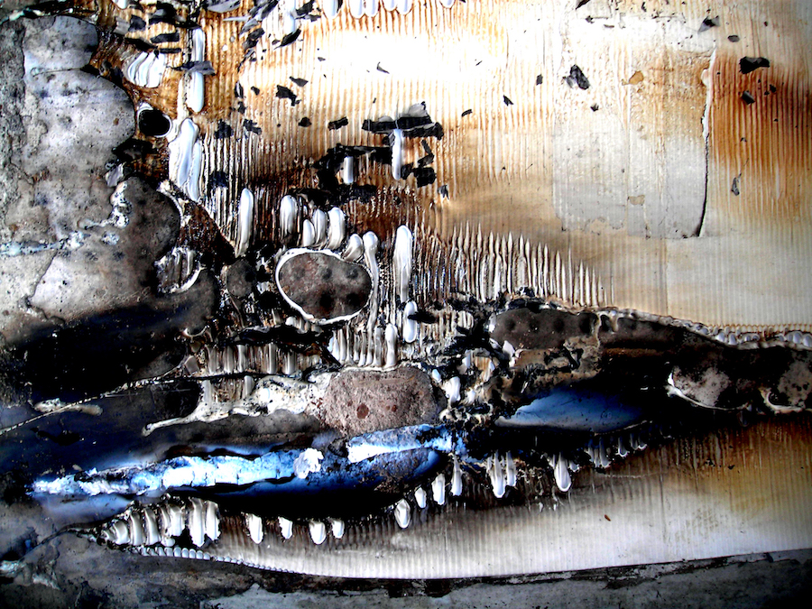 Painting in a wall, 2006, photography, 80 x 100 cm