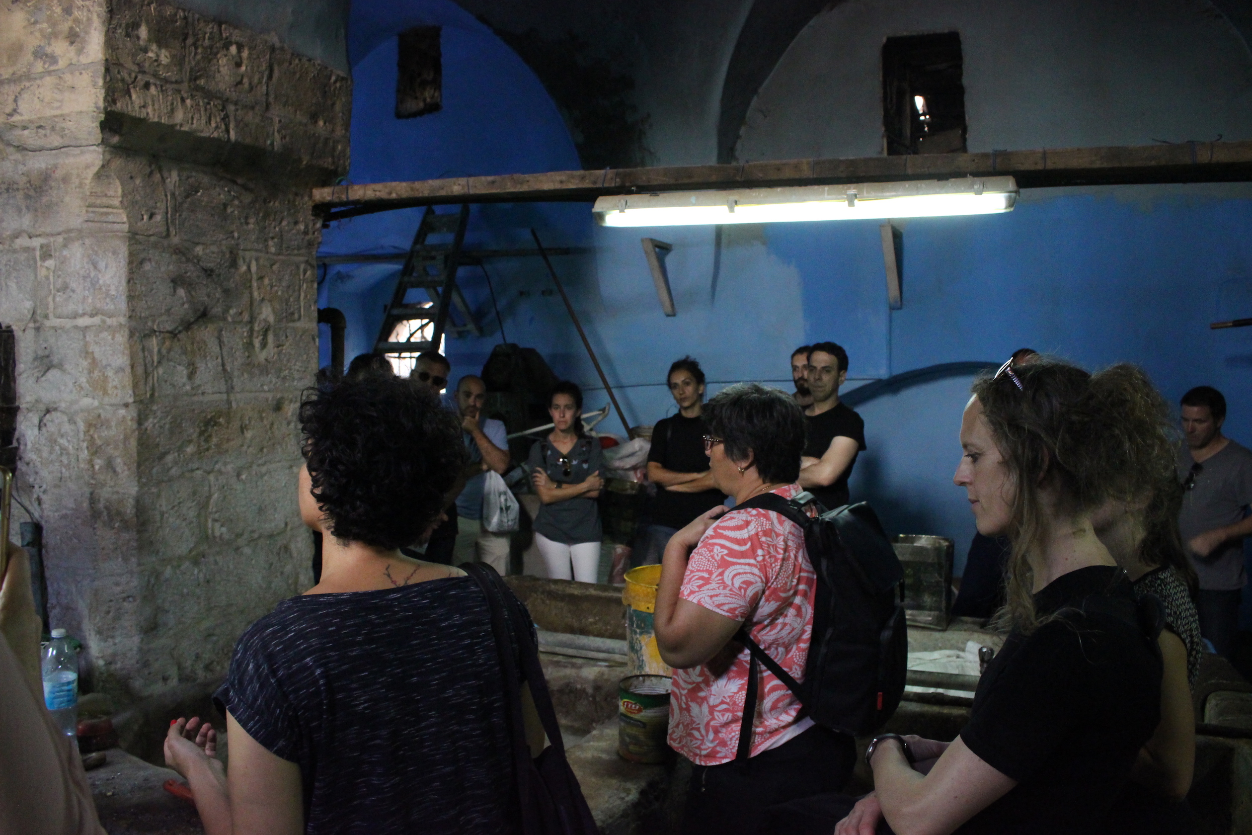 A Wondering in Flavors: The Old City of Jerusalem, The Walk, Al Ma'mal Foundation for Contemporary Arts, Jerusalem, 2018